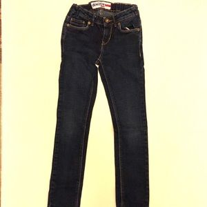 Girls denizen skinny jeans size 7 Levi's